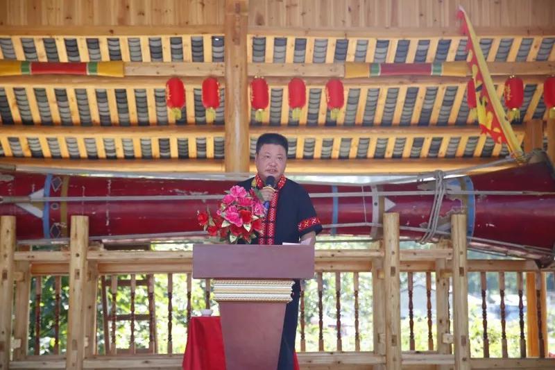 连南县旅游局局长邓茂林讲话