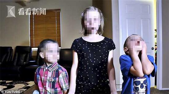 女子收养7个娃当网红挣钱 不听话就打骂还锁衣柜里