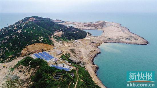 ■珠海三角岛计划明年部分开放,2022年实现全部开放。  通讯员供图