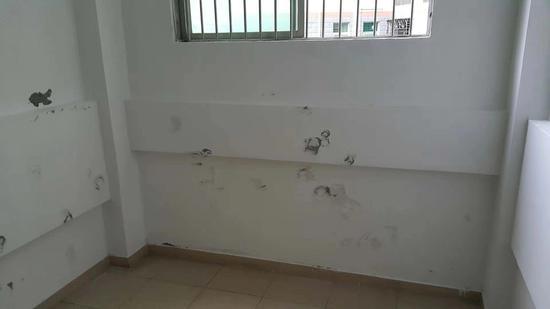 刘全杀害王直妻子和女儿的楼梯间。 受访者供图