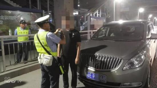 由于韩某酒后开车,被处以罚款2000元、暂扣驾驶证6个月的处罚,记12分。