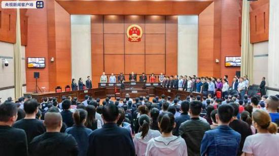 广州56人涉黑案一审公开宣判 主犯施华兵获刑20年