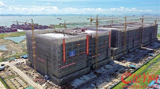 全国最大!广州南沙国际冷链项目封顶