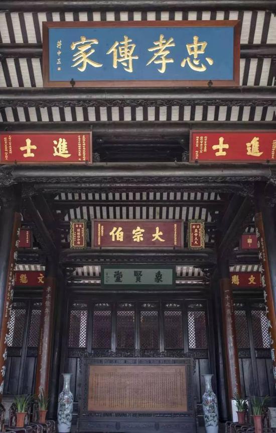 留耕堂(摄影许伟明)