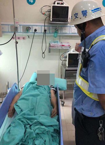 上海女子汕头出差时娱乐昏厥在路边 辅警送院急救