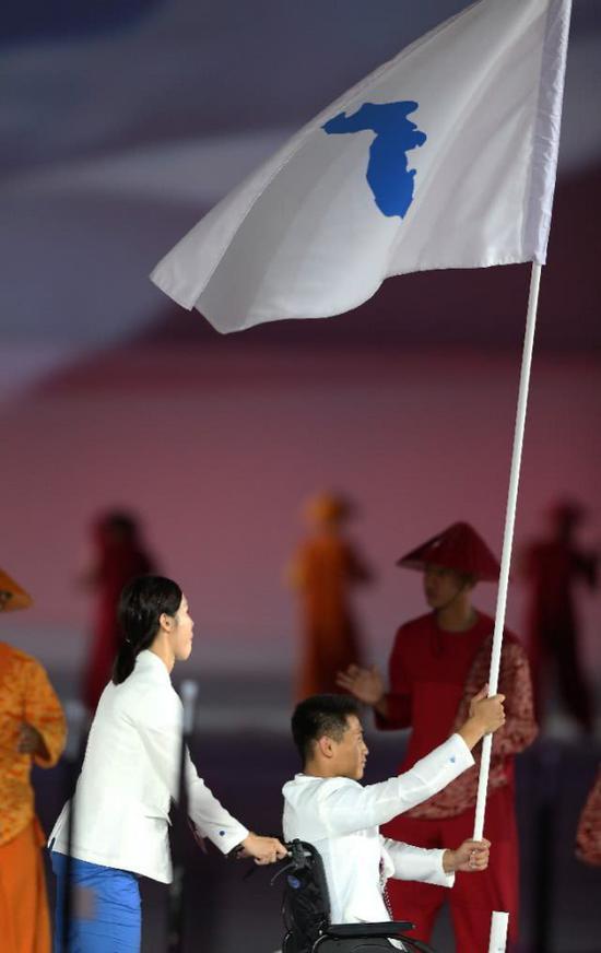 本届亚残会,朝韩将联手出战游泳和乒乓两大项目 图片来源:新华社