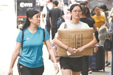 9月,广东省各大高校陆续完成新生入学工作。广州日报全媒体记者高鹤涛 摄