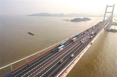 虎门大桥 广州日报全媒体记者葛宇飞