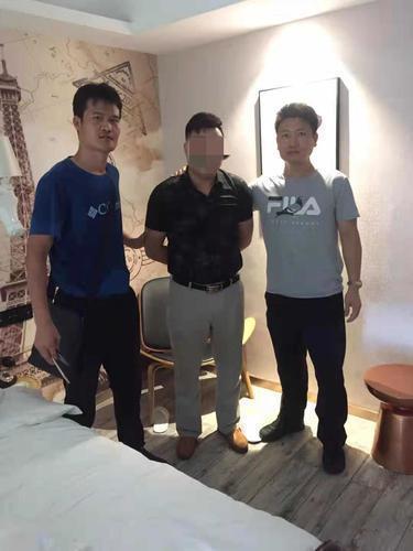 涉事男子在深圳落网
