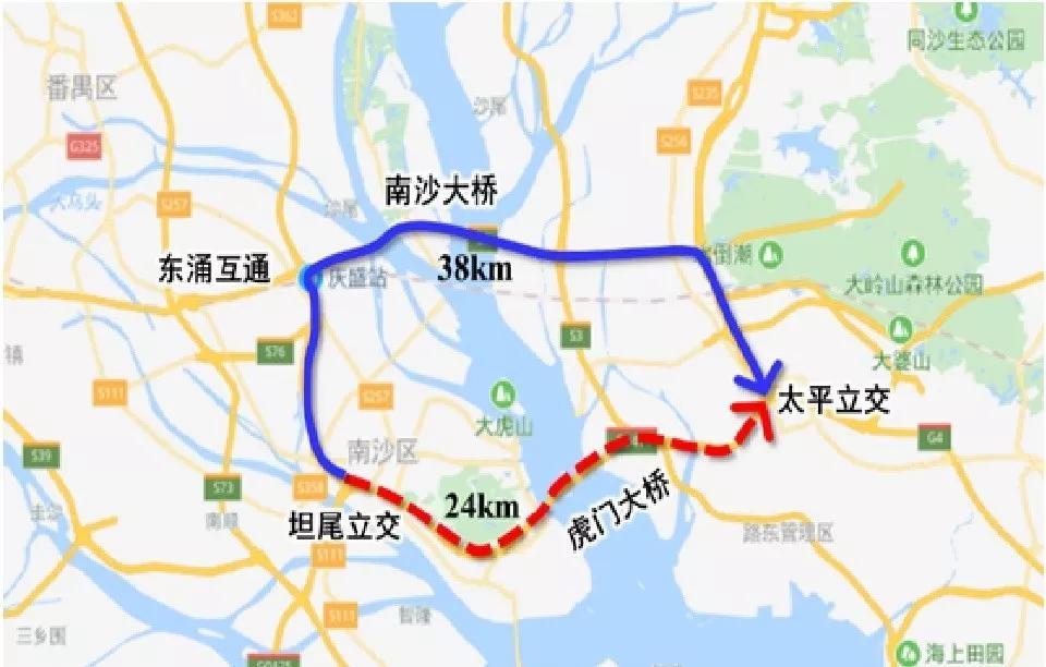 明天0点起虎门大桥又要限行了 这些车都会受影响