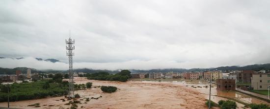 受灾现场。来源:连平县委宣传部