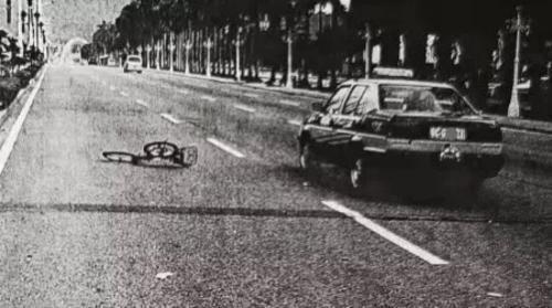十年前交通事故现场照片(资料图)