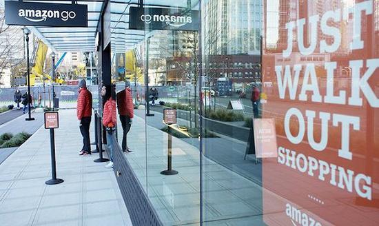 Amazon Go位于西雅图的门店