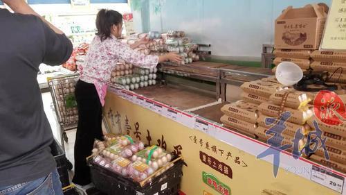 广州一超市,店员连夜撤神丹品牌蛋