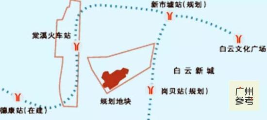 (项目附近有5个地铁站。图片自信息时报)