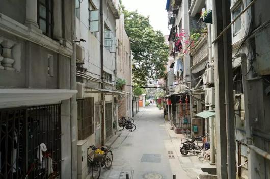 今天安静的昌华大街