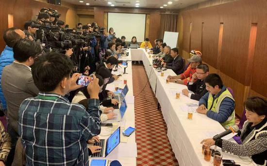 发布会现场图。新京报记者 蒋鹏峰 摄