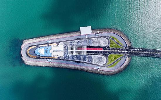东人工岛 港珠澳大桥管理局
