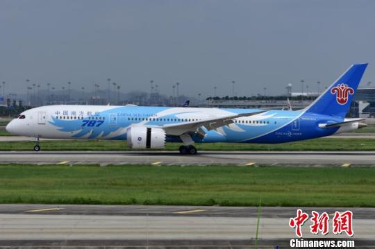 波音787梦想飞机。资料图 叶荣宗 摄