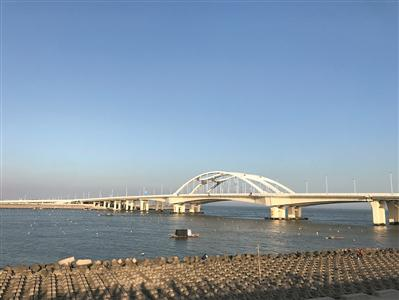 汕头东海岸海景很美。广报全媒体记者陈家源 通讯员许钰敏、郑坚 摄