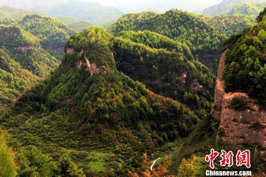 资料图:甘肃渭源渭河源大景区。甘肃省旅发委供图