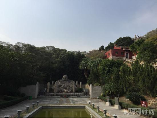 释真机曾担任住持的福清弥勒岩瑞岩寺。记者杨安平摄