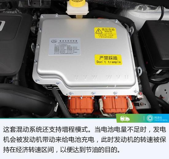 可以说这套动力系统不仅仅是燃油经济性超高,在动力输出方面也是比较强悍了。