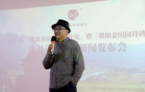 著名诗人、艺术家尚钧鹏先生