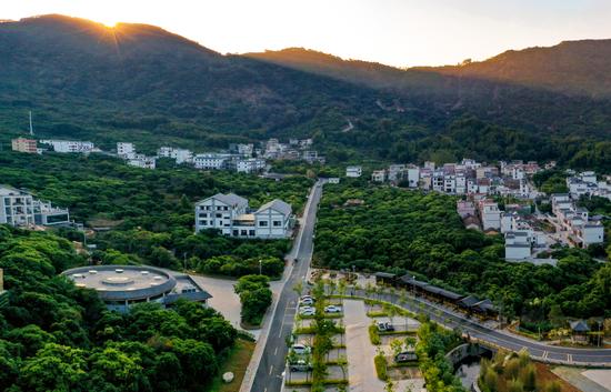 南平村全景