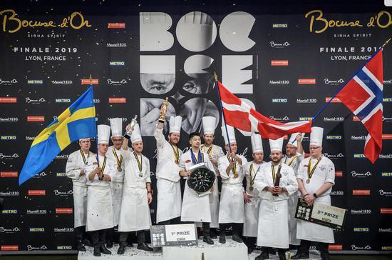 丹麦赢得博古斯世界烹饪大赛2019年总决赛冠军