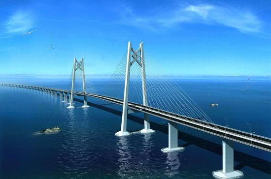 港珠澳大桥 资料图