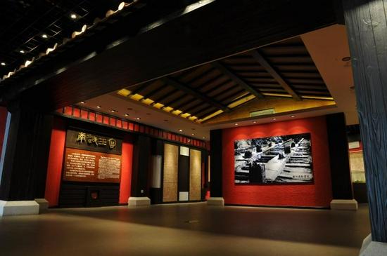 南越王宫展厅。