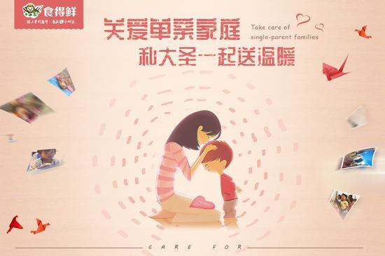 15 关爱单亲家庭大圣送温暖