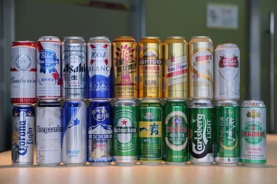 参与本次线下评测的19个啤酒品牌