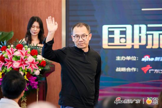 """""""互联网大篷车""""行动联合发起人宗毅上台演讲"""
