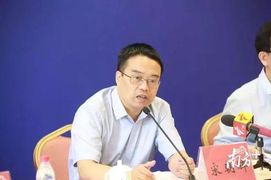 广东省广播电视局宣传管理处处长宋朝晖