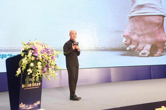 国务院发展研究中心研究员王育琨作《华为智慧与危机时期企业管理》主题演讲