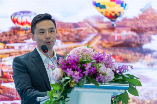 佳兆业国际乐园集团副总裁刘涛立先生致欢迎词