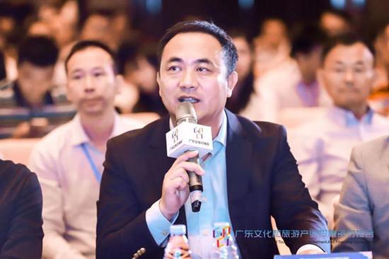 融创(广州)主题娱乐文化旅游管理公司总经理魏斌点评发言