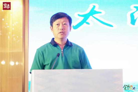 广州市文化广电旅游局市场推广处副处长王海波
