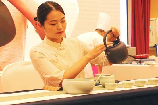 《禅茶一味》表演