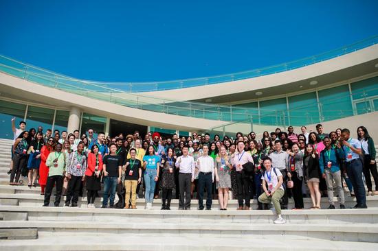 全球青年创新集训营活动与会人员合影