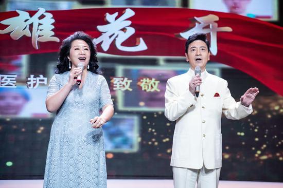 歌曲《有一种力量》  演唱:唐 彪、崔峥嵘
