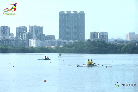 """2020年广东省""""中国体育彩票""""青少年赛艇锦标赛开赛"""