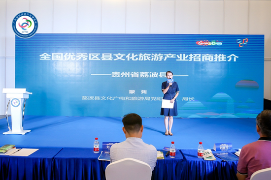 全国优秀区县文旅产业案例招商推介环节