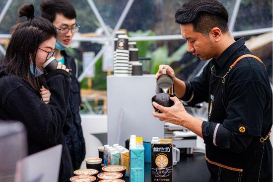 维他奶在陆家嘴咖啡节推出多款特调饮品