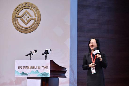 中山大学旅游管理学院教授、博士生导师孙九霞发言