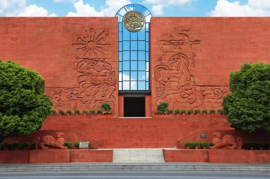 南越文王墓展区。