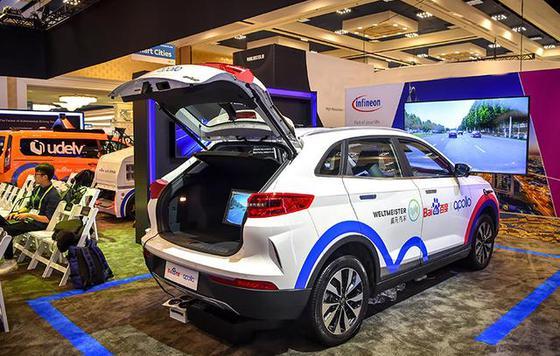 2019CES:百度威马L3级自动驾驶车2021年量产