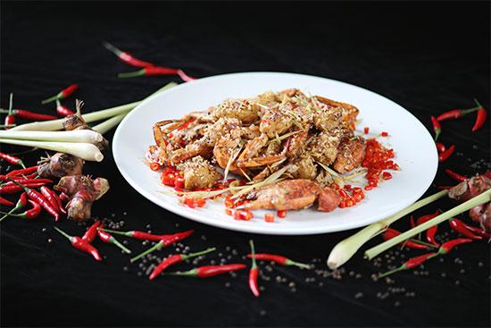 黑椒炒肉蟹